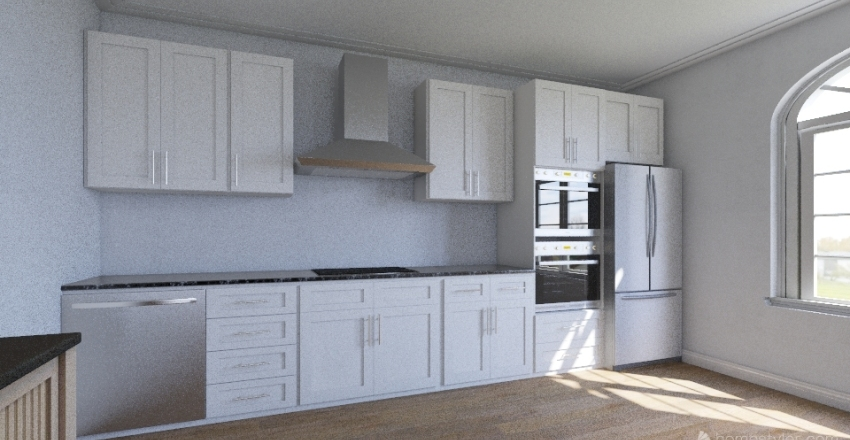 дом Interior Design Render