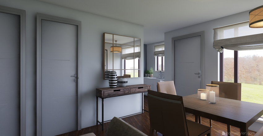 CASA AGAVES Interior Design Render
