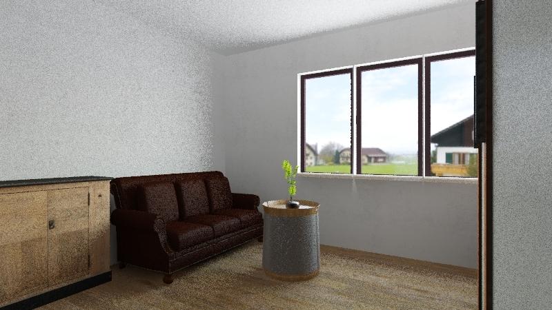 Lukášův pokoj Interior Design Render