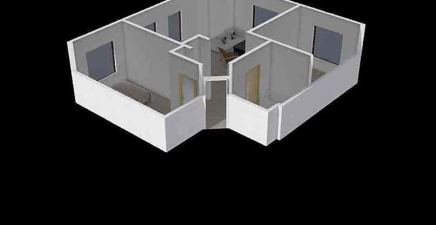 Dębowa 20 Interior Design Render
