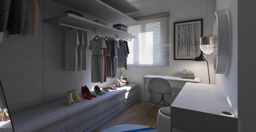 new apartment Interior Design Render