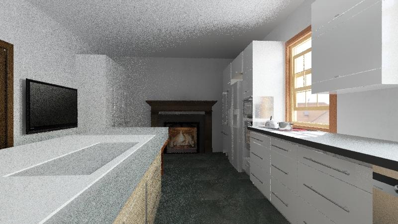 Kitchen Expanded Interior Design Render
