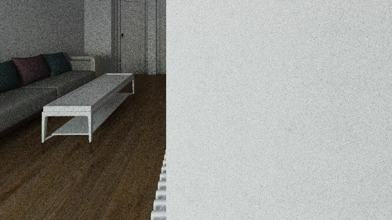 Knajs kuća Interior Design Render