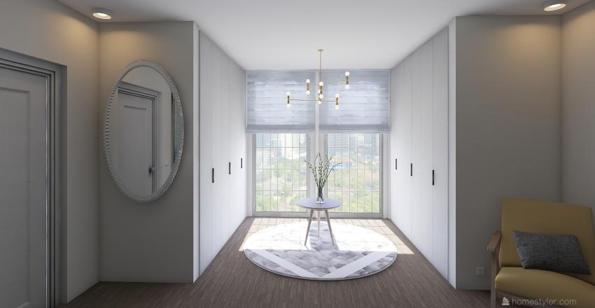 Chic Sleep Interior Design Render