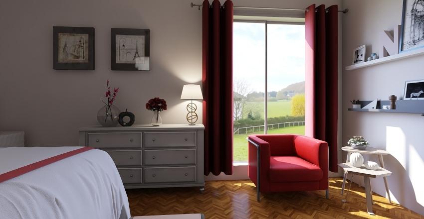 Small dream apartment Interior Design Render