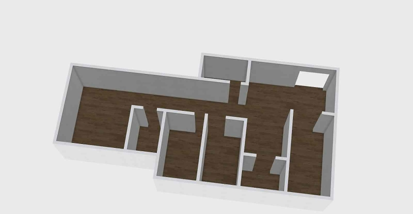 Pequeno porte  Interior Design Render