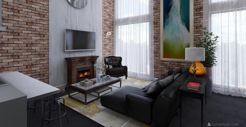 Loft Chicago VC Interior Design Render