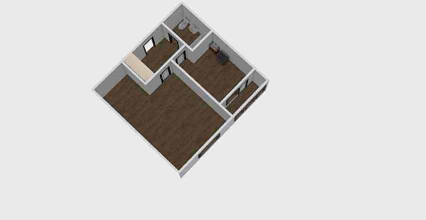 1-комн_0330 Interior Design Render