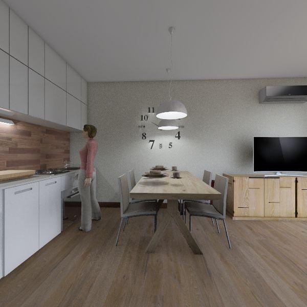 маяковка Interior Design Render