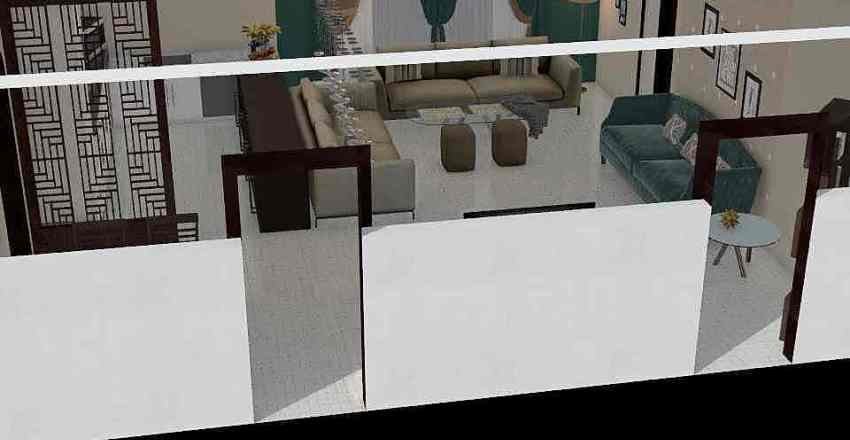 hall first floor Interior Design Render