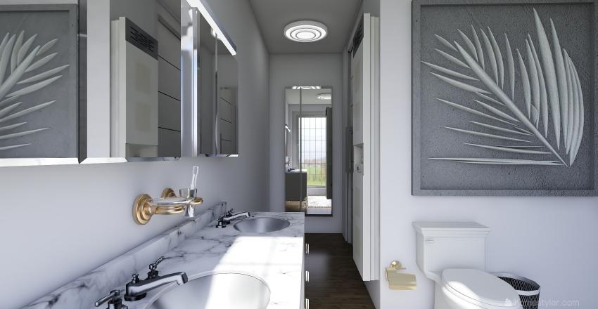 Winter Escape Interior Design Render