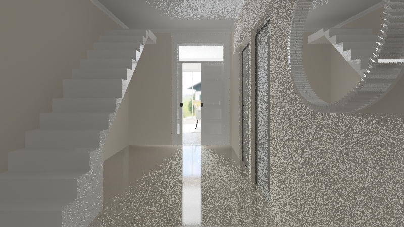 Place for happiness Interior Design Render