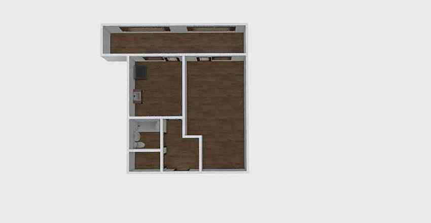 1-комн_0332 Interior Design Render