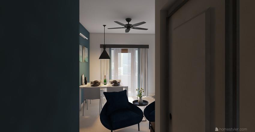 ALPINE CO-LIVING SPACE Interior Design Render