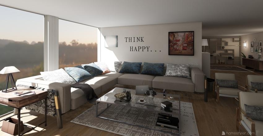 working apartment (Vancouver) Interior Design Render