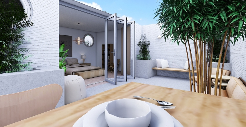 Bring the outdoors in!!! Interior Design Render