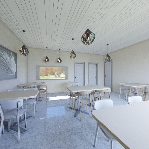 ristorante anna Interior Design Render