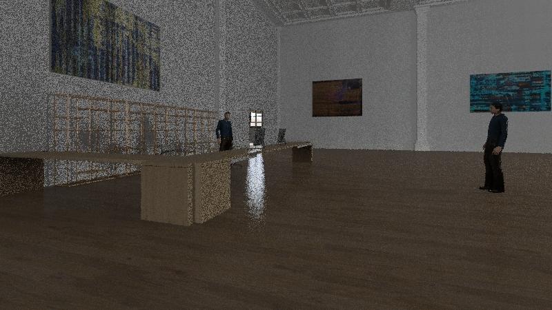 auditorio Interior Design Render