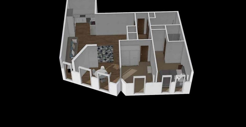 Sky View Tower Interior Design Render