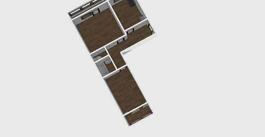 2-комн_0315 Interior Design Render