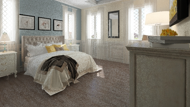 Shari Lawrence Interior Design Render