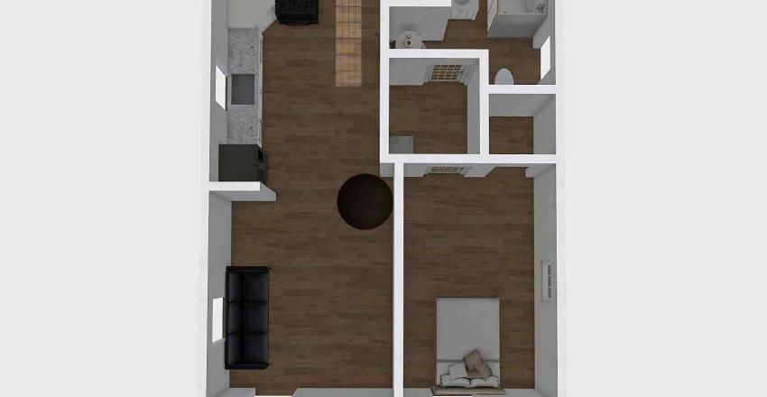 3920 6th St RI BEFORE Interior Design Render