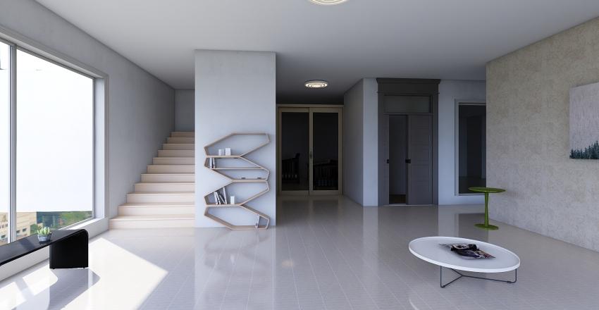 3 floors Interior Design Render