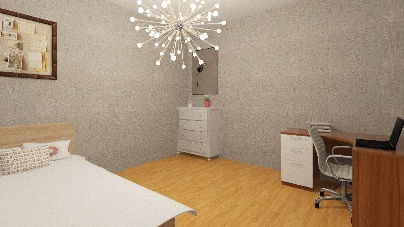 bedrooms Interior Design Render