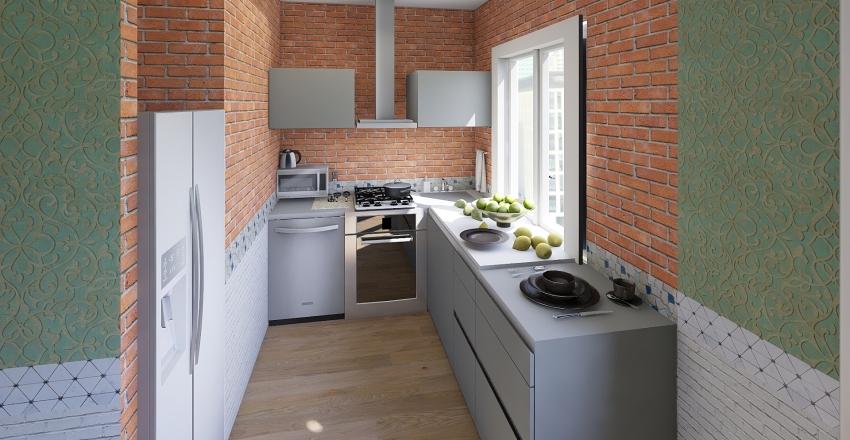 Apartment #1 Interior Design Render