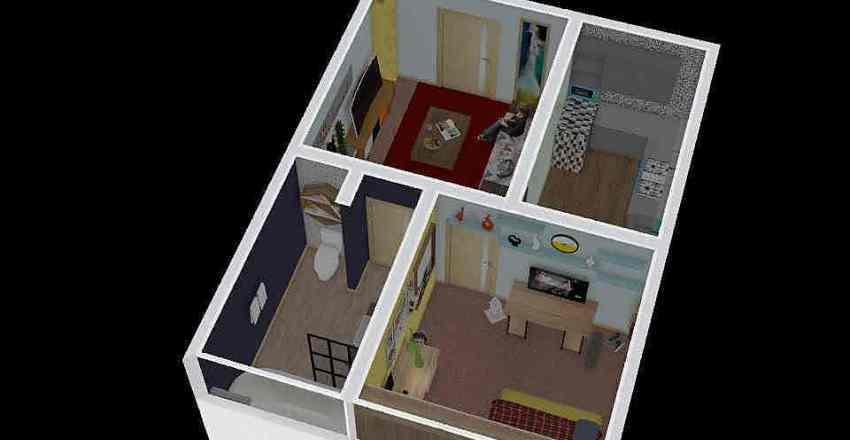 house 4 Interior Design Render