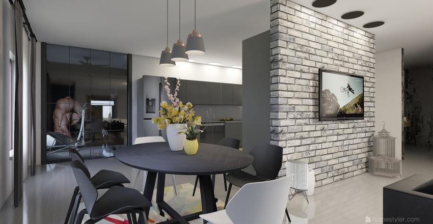 AFRAA HOME Interior Design Render