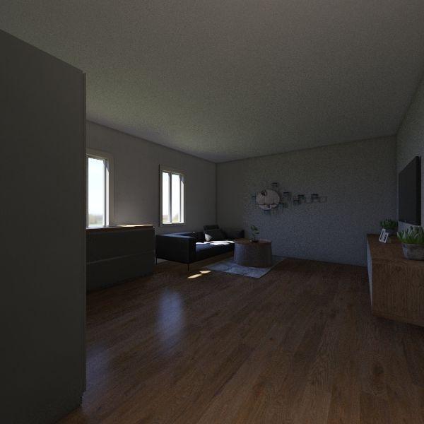 3KK+pracovna Interior Design Render