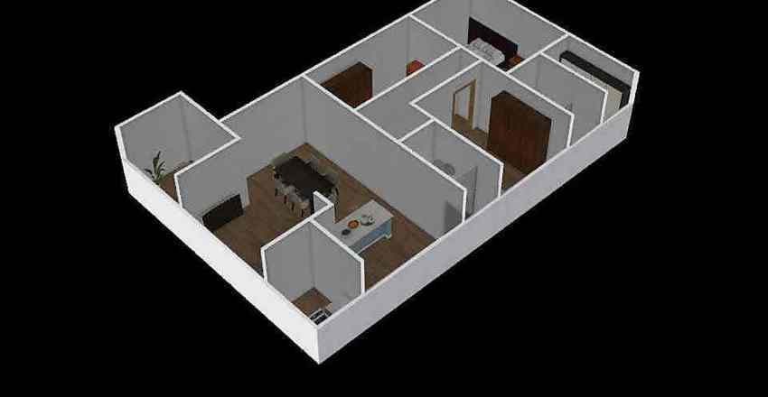 projeto planta baixa Interior Design Render