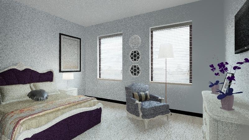 Susan's Room Interior Design Render