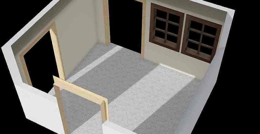 dapur Interior Design Render