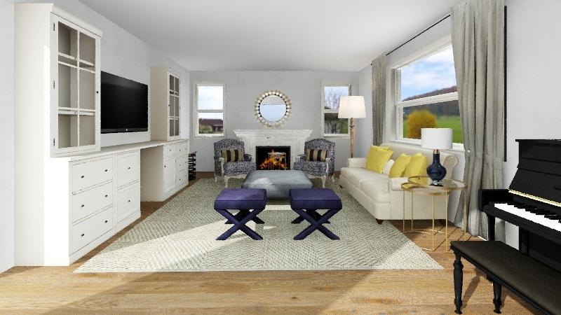 Skyrm Living - Ballard Joesphina Interior Design Render