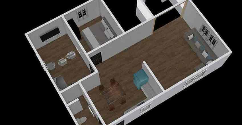 B 1st floor Interior Design Render