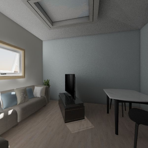 Tiny House Interior Design Render