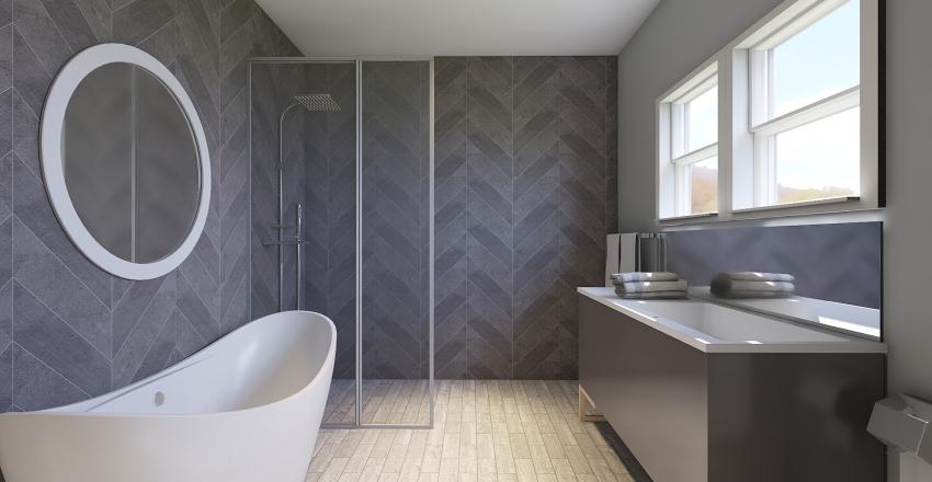 Julie master bathroom Interior Design Render