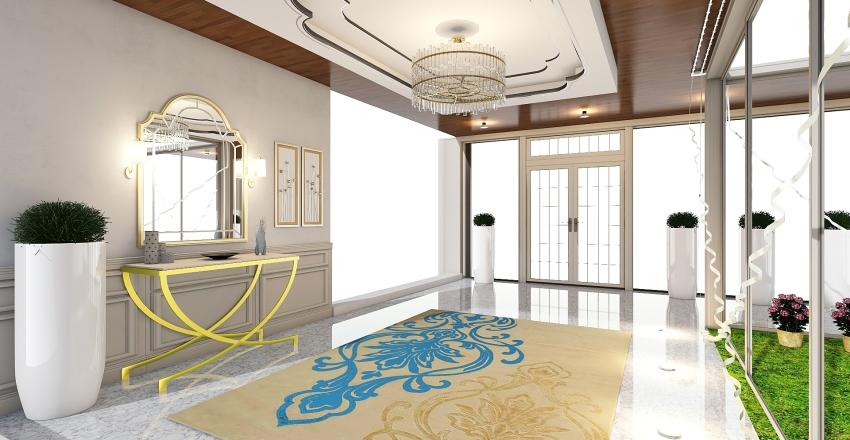 HALL PRINCIPAL Interior Design Render
