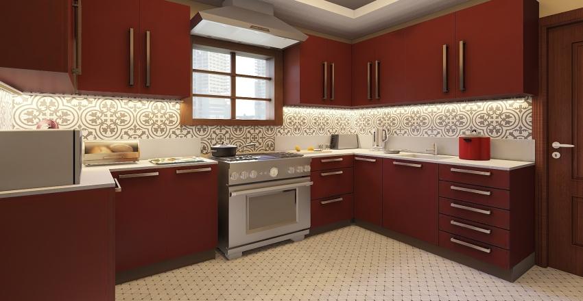 1. KITCHEN P101 Interior Design Render