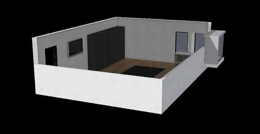 French room Interior Design Render