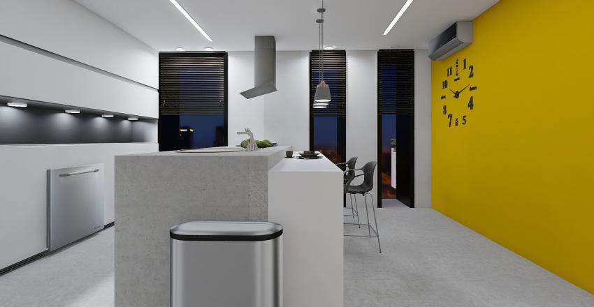 Residencial Minimalista  Elegante I Interior Design Render