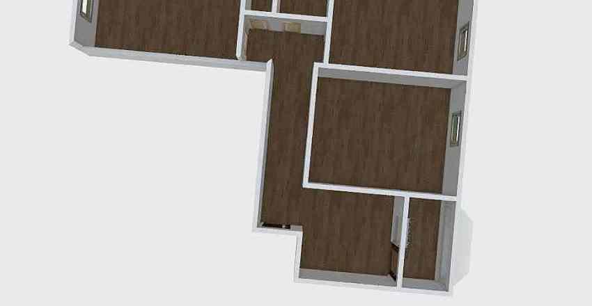 3к Циолковского 2г Interior Design Render