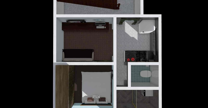 recreation 3 Interior Design Render