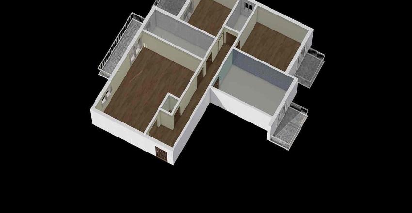 DELLUTRI STATO DI FATTO Interior Design Render