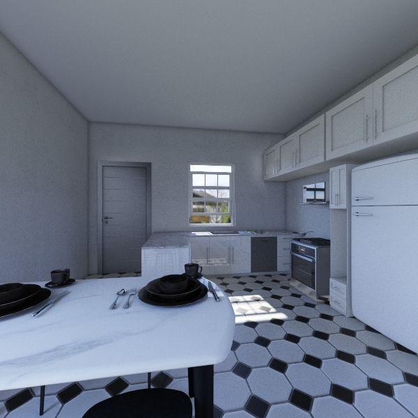 Projeto cozinha Interior Design Render