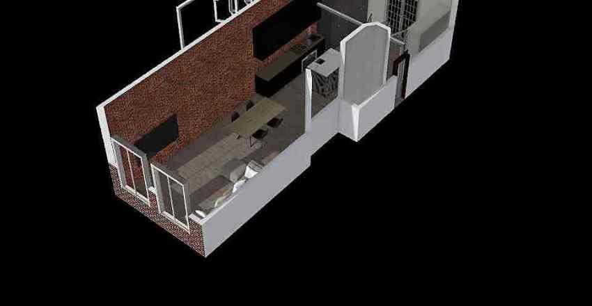 Herengracht Practice 2AB Interior Design Render