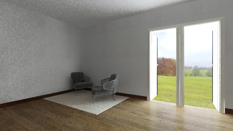 random house Interior Design Render