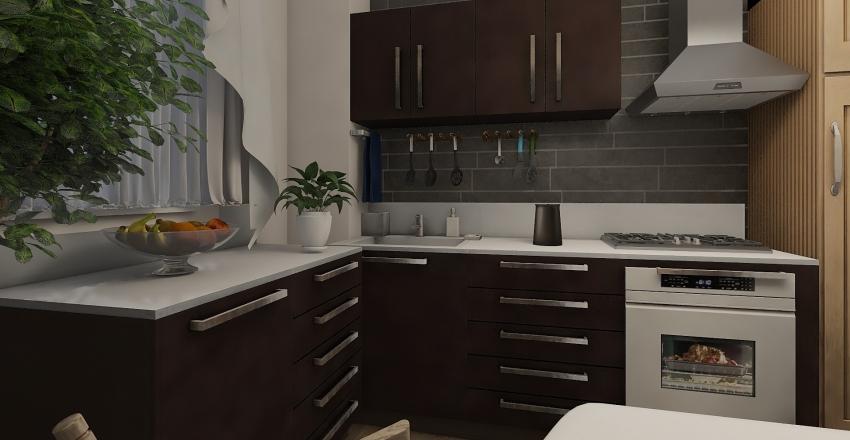 Cooking Interior Design Render